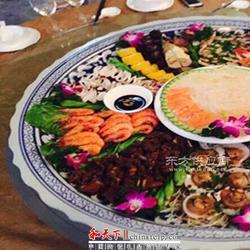 超大16寸陶瓷长方形平盘 日式海鲜刺身盘子 西餐龙虾大盘图片