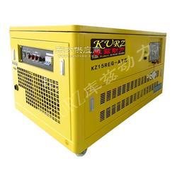 25KW低噪音箱式汽油发电机低价促销图片