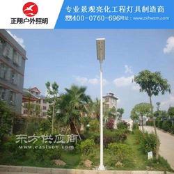 一体化太阳能路灯得到广大用户的一致好评图片