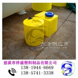 新安塑料加药罐|水处理PE加药罐带搅拌计量泵图片