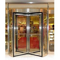 玻璃旋转门-鑫凯达门控-旋转门图片