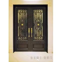 呼和浩特花园门-皇家骑士别墅门-花园门图片