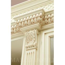 实木书柜 白色-实木书柜-铭源木业质量稳定(查看)图片