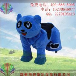 新款促销无极变速厂家直销儿童玩具电动车毛绒玩具电动车图片