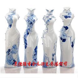 家居摆设礼品陶瓷花瓶定制厂家图片
