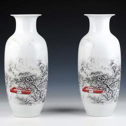陶瓷花瓶定制生产厂家图片