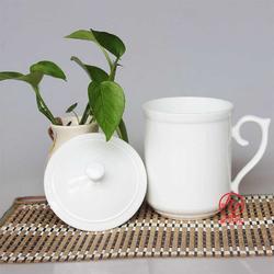 定制陶瓷礼品茶杯茶具生产厂家图片