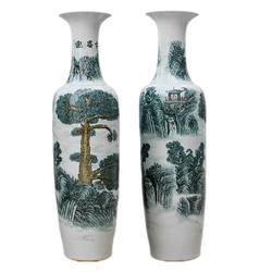 陶瓷落地大花瓶定制生产厂家图片