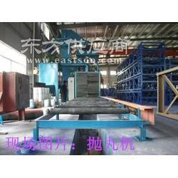 钢结构抛丸机 H型钢抛丸机 钢结构除锈机Q6913图片