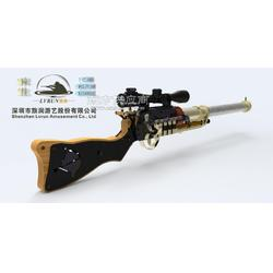 游乐场射击专用设备狩猎者 实弹射击气炮枪图片
