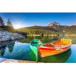 5米高档一头尖欧式木船 木质观光手划船 公园景点木船 纯手工制作图片
