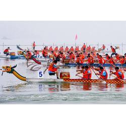 18.3米木质龙舟 22人国际标准龙舟 玻璃钢龙舟 端午节比赛龙舟图片