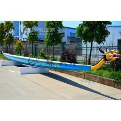 22人玻璃钢龙舟 端午比赛龙舟 端午赛龙舟大赛专用木船 苏兴制造图片