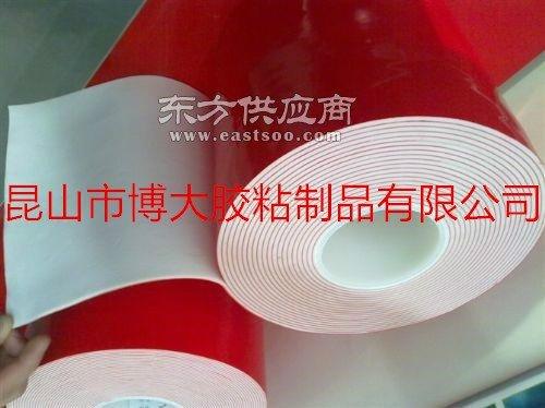 1MM白色泡棉双面胶模切成型图片