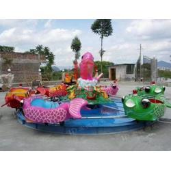 广东鲤鱼跳龙门,水上游乐设备,互动类鲤鱼跳龙门图片