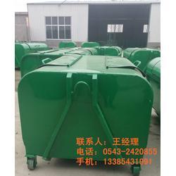 龙口镀锌垃圾桶、博兴中礼、镀锌垃圾桶环卫图片