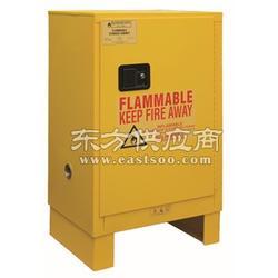 DURHAM MFG 黄色手动钢制安全存储柜带底座图片
