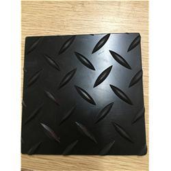 湖北防滑橡胶板-固柏橡塑-三角形防滑橡胶板图片