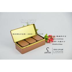 高档普洱茶铁盒包装 长方形铁罐 金属茶叶套装盒图片