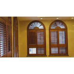 河北锌钢百叶窗、煜昕铁艺、锌钢百叶窗报价图片