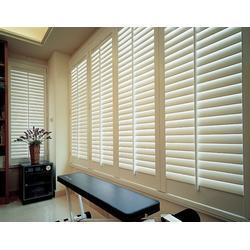 西安锌钢百叶窗-煜昕铁艺-优质锌钢百叶窗图片