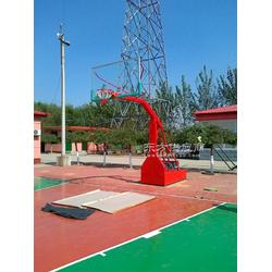 室外健身器材篮球架重磅钜惠年终高质量悬臂篮球架图片