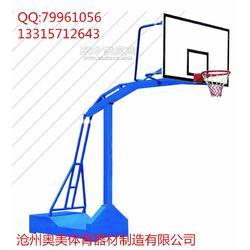 标准室外篮球架图片