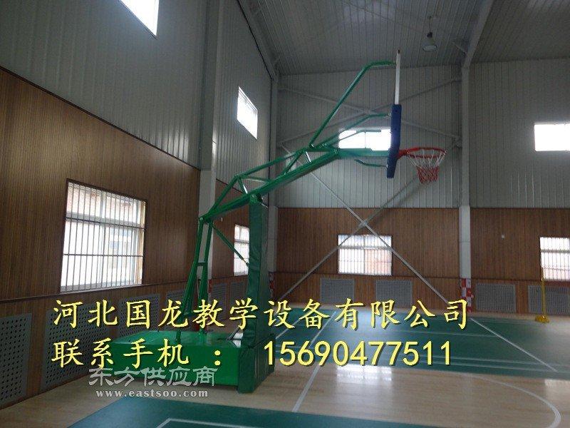 学校地埋式圆管篮球架不得不心动的款式