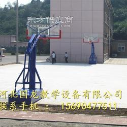 中学平箱仿液压篮球架标准尺寸图片
