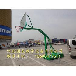 学校遥控电动液压篮球架更好表现高水准图片
