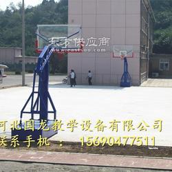 小学填埋式篮球架各种款式图片