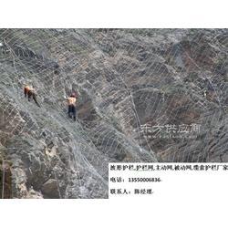 高速公路拦截岩石钢丝绳GPS2主动边坡防护网图片