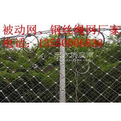 被动边坡防护网RX-025型钢柱图片