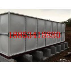 水箱专家56吨玻璃钢水箱厂家玻璃钢拼装水箱质量有保障图片