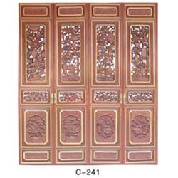 泽翔木艺工艺精湛、仿古门窗、仿古门窗图片
