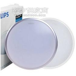 Philips/飞利浦吸顶灯恒洁LED小卧阳台厨房客厅灯12W/17/W20W/2700K/6500K白边银边爆款图片