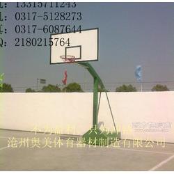 立柱式篮球架出厂真正实惠室外篮球架图片