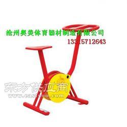 三人转腰器单人漫步机摸高器塑木三组合训练器健身路径厂家图片