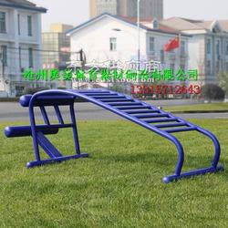 室外健身路径厂家休闲平凳下腰训练器呼啦桥年底后一波工厂现货特价图片
