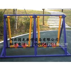 二位蹬力器双杠三人旋转轮室外单人平步机健身器材厂家图片