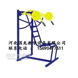 学校健身路径四人大荡椅健身车三人转腰器图片