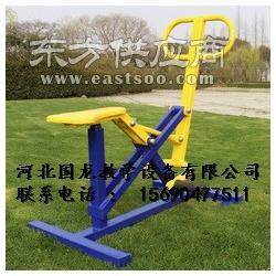 室外健身器材双人联动平步机三人转腰器双人荡板双人摇摆图片
