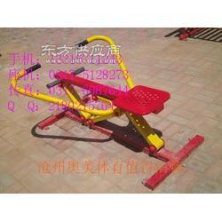 四级压腿按摩器双人联动平步机室外儿童秋千室外平梯健身器材厂家图片