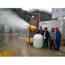 天津工地喷雾机雾炮哪里买、捷成环保、驻马店天津工地喷雾机图片