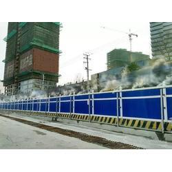 焦作济源工地围挡喷淋-郑州工地围挡喷淋安装(捷成环保)图片