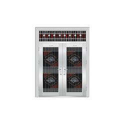 不锈钢防盗门的安装-山西金瑞祺贸易-交口不锈钢防盗门图片