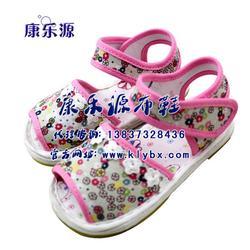 康乐源,宝宝纯棉布凉鞋,凉鞋图片