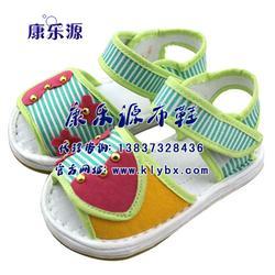 儿童手工布凉鞋、济南凉鞋、康乐源(查看)图片