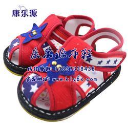深圳凉鞋,康乐源,儿童舒适布凉鞋图片