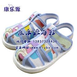 儿童清爽布凉鞋、康乐源(在线咨询)、凉鞋图片